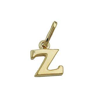 zarter kleiner Buchstabenanhänger gold 375 Anhänger, Buchstabe Z, 9 Kt GOLD