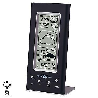 klassische Funk-Wetterstation zum Hängen & Stellen satellitengestützt