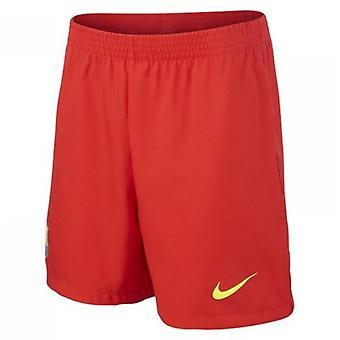 2013-14 Barcelona bort Nike Shorts (barn)