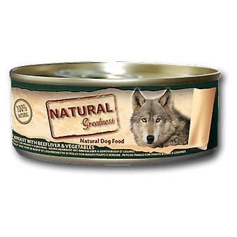 Natural Greatness Chicken breast, liver and Vegetables (Dogs , Dog Food , Wet Food)
