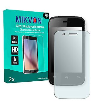 Wiko Ozzy Screen Protector - Mikvon Clear (Retail Package with accessories)