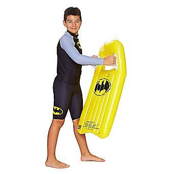Mittelerweile Kinder Batman aufblasbare Body Board/Surf Rider, schwarz/gelb, 3 Jahre +