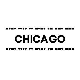 Chicago-Plakat-Druck von Linda Woods