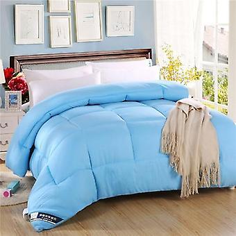 600 Thread Count-100% Cotton Comforter/quilt-sky Blue