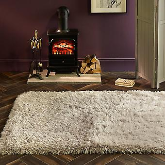 Extravagance Silver  Rectangle Rugs Plain/Nearly Plain Rugs