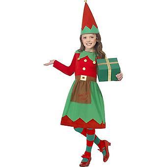 Santa's Little Helper kostuum, grote leeftijd 10-12