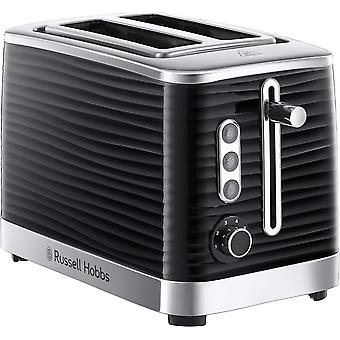 Russell Hobbs 24371 Inspire High Gloss 2 Slice Toaster - Black