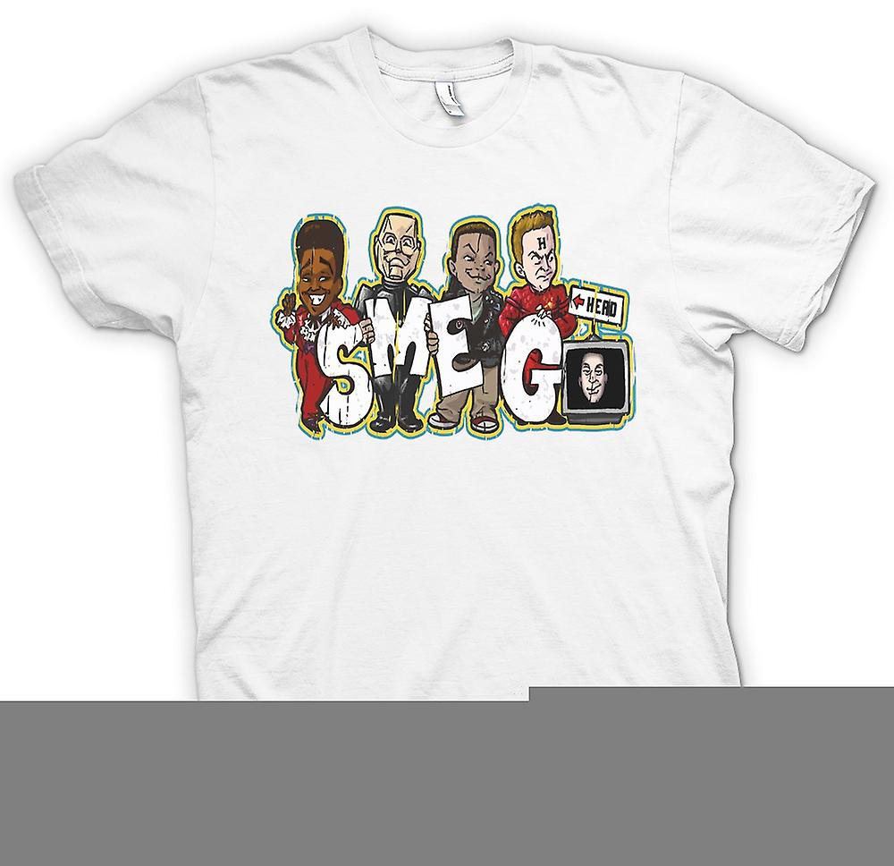 Mens t-shirt - Smeg - Rimmer, gatto Lister, Kryton