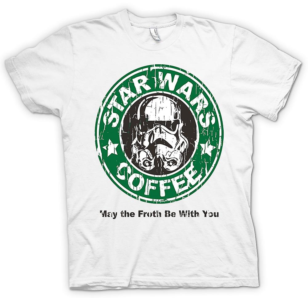 Womens T-shirt - Star Wars-Kaffee - Stormtrooper