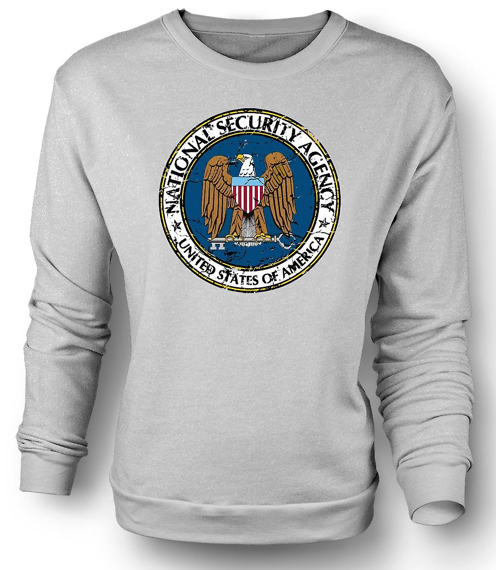 Mens Sweatshirt NSA National Security Agency - Conspiracy
