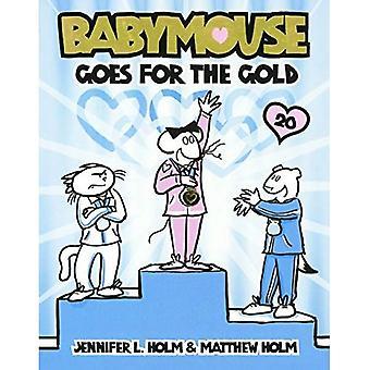 Babymouse går för guld (Babymouse (Prebound))
