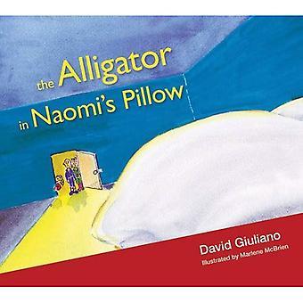 Alligator in Naomi's Pillow