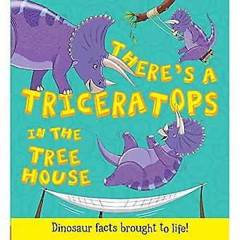 What If A Dinosaur: There's a Triceratops in the Tree House