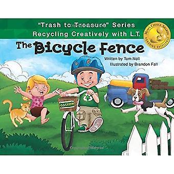 Die Fahrrad-Zaun (Trash Serie zu schätzen: Recycling kreativ mit L.T.)