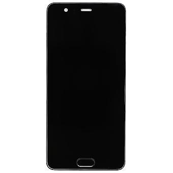 Huawei P10 Plus skærm forsamling med Home knappen - sort