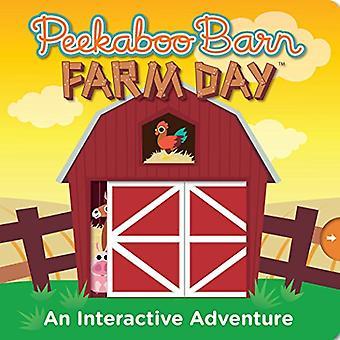 Peekaboo Barn Farm Day (Peekaboo) [Board book]