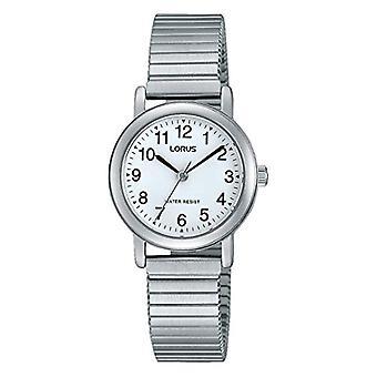 Lorus women-color classic stainless steel quartz wrist watch RRS81VX9