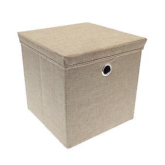 Country Club Weave Stone Storage Box