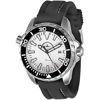 Zeno-watch mens watch professional diver Pro diver 2 white 6603-a2