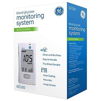 Ge100 blood glucose monitoring system, auto coding, 1 ea