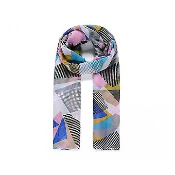 She Loves Gifts Womens/Ladies Stripes And Spots Abstract Print Scarf