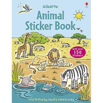 Animal Sticker Book by Cecilia Johansson - 9780746098974 Book
