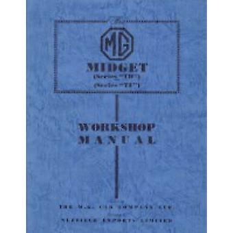 MG Midget TD & TF Workshop Manual by M G Car Company Limited - 978187