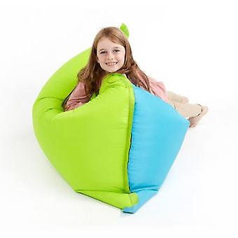 Türkis & Lime Water Resistant Children es Bean Bag Slab