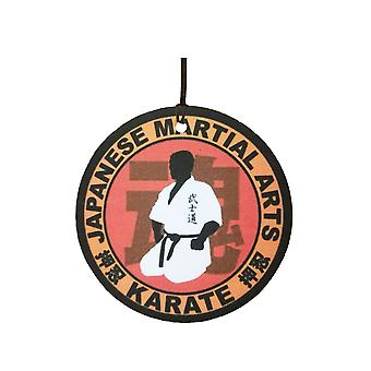Japanese Martial Arts Karate Car Air Freshener