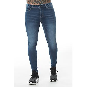 11 Degrees Essential Jeans Skinny Fit - Mid Blue