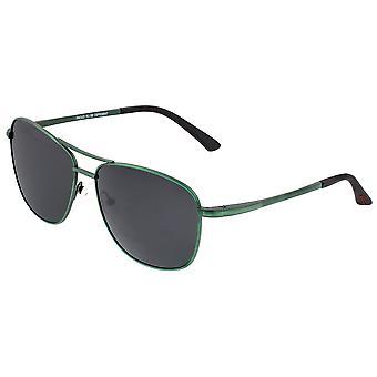 Breed Hera Titanium Polarized Sunglasses - Green/Black