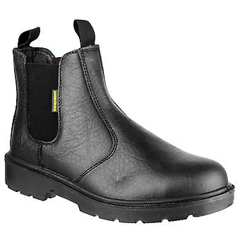 Amblers Safety Mens FS116 Dual Density Pull on Safety Dealer Boot