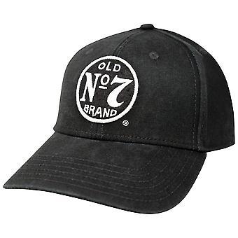 Jack Daniels Old No. 7 Cotton Twill Black Hat