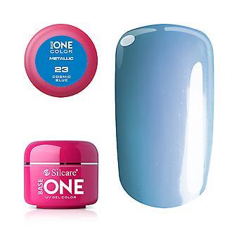 Base one Metallic Cosmic blue 5 g UV-gel