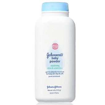 Johnsons Babypuder, beruhigende Aloe & Vitamin E, 4 oz