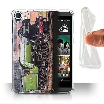 STUFF4 Gel/TPU Case/Cover für HTC Desire 820s Dual/Flying Scotsman/Dampflokomotive