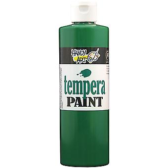 Handy Art Tempera Paint 16 Ounces Green 201 045