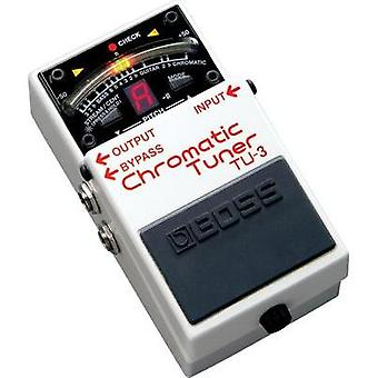 Guitar tuner BOSS TU-3 White-red