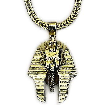 18k Gold Plated Small King Tut Pendant