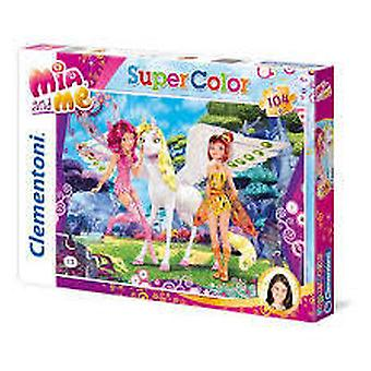 Clementoni 104 Puzzle Mia And Me (Spielzeuge , Brettspiele , Puzzles)