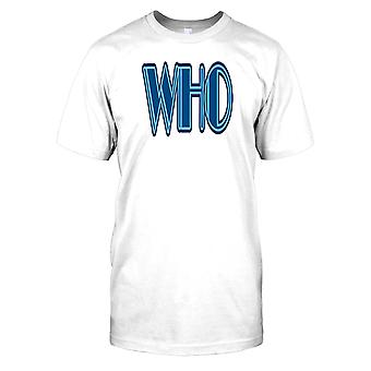 WHO - konspiration Mens T Shirt