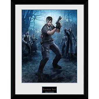 Resident Evil Leon Gun Collector Print