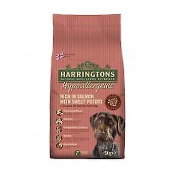 Harringtons komplet hund allergivenlige laks & sød kartoffel 5kg