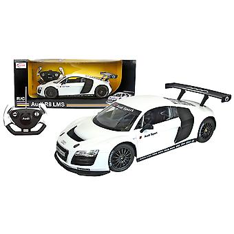 Rastar Audi R8 Licensed White 1/14 Scale Remote Control Car - Age 3+ Years