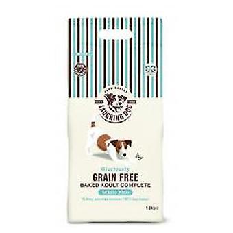 Griner hund herlig korn gratis komplet hvid fisk 1,5 kg