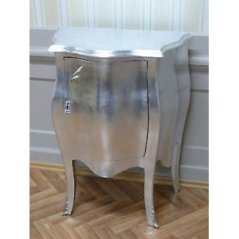 retro chest of drawers in silver  chest of drawers online