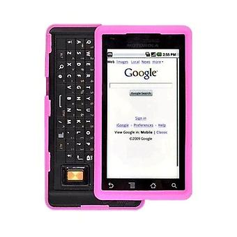 OEM Verizon Motorola Droid Silicone Soft Cover Case - Pink (Bulk Packaging)