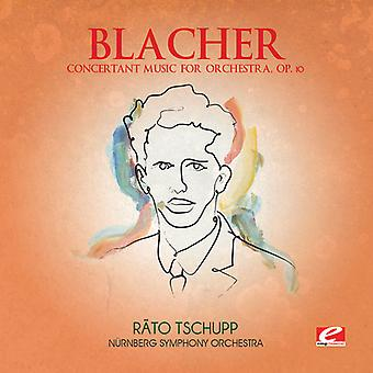 B. Blacher - Blacher: Concertant Music for Orchestra, Op. 10 [CD] USA import