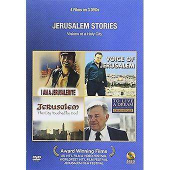 Jerusalem fortællinger [DVD] USA importerer
