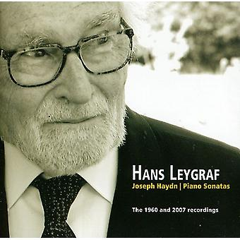 Hans Leygraf - Joseph Haydn: Klaver sonater - 1960 og 2007 optagelser [CD] USA importen
